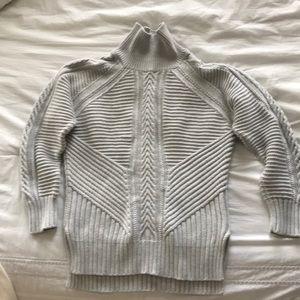 Banana Republic gray sweater XS